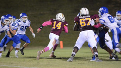 McMullens opening drive TD (AppStateJay) Tags: nikon d7100 tamron70200mmf28dildifmacro tamron70200mmf28 tjca thomasjeffersonclassicalacademy homecoming gryphons 2017 football season sport action athlete touchdown run game athletics communityschoolofdavidson southernpiedmontconference
