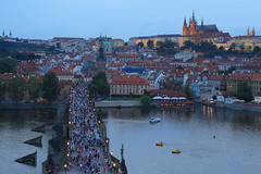 Prague - Charles Bridge (Michael.Kemper) Tags: karlův most charles bridge charlesbridge karlsbrücke karl brücke blue hour bluehour blaue stunde blauestunde canon eos 6d canoneos6d canonef2470f4lisusm ef 2470 f4l is usm voyage travel travelling reise praha prague prag czech republic czechrepublic česká republik českárepublika tschechien tschechische böhmen čechy moldau flus fluss vltava castle st vitus cathedral saint prager burg veitsdom