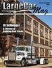 LargeCarMag Cover (Eric Arnold Photography) Tags: kenworth semi truck bobtail trucker trucking magazine feature cover largecar custom chromehuron southdakota sd wheeljam 2017 abandonded building railroad tracks canon 80d