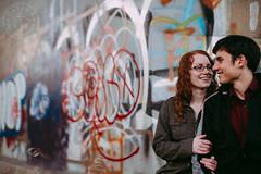 Katie + Tyler (Davin G Photography) Tags: 50mm bruger camrose davingphotography davingphoto engagement katie tyler
