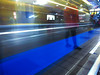 (sandytw220) Tags: reflection mrt station taipei people speed color casio