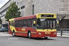 Red Rose Aylesbury 50533, BX56XAH. (EYBusman) Tags: red rose buses aylesbury buckinghamshire independent bus coach milton keynes central city centre bmc falcon mckindless wish newmains scotland emblings guyhirn bx56xah eybusman
