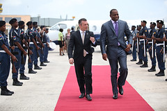 "MP Schotte with MP of Dominica Roosevelt Skerrit in Curacao • <a style=""font-size:0.8em;"" href=""http://www.flickr.com/photos/137313818@N05/37274899640/"" target=""_blank"">View on Flickr</a>"