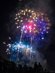 DSCN2833 (Esther Andreu) Tags: pyrotechnics fireworks firecracker colorfull colors colours smoke night fest