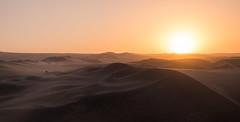 Peru's Sahara - Huacachina (Maria_Globetrotter) Tags: peru dscf9103lr nazca desert sand dunes sunset