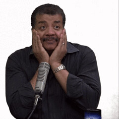 New trending GIF on Giphy (I AM THE VIDEOGRAPHER) Tags: ifttt giphy science thinking hmm astrophysics hmmm neil degrasse tyson pensive startalk radio