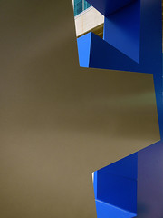 Sculptural signage of the letter 'E' indicates the 'E' section at Vancouver's Stadium (elizabatz.jensen) Tags: letter sculpture e signage esection vancouver stadium