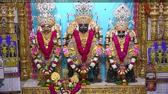 NarNarayan Dev Shringar Darshan on Sun 01 Oct 2017 (bhujmandir) Tags: narnarayan dev nar narayan hari krushna krishna lord maharaj swaminarayan bhagvan bhagwan bhuj mandir temple daily darshan swami shringar
