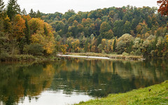 isar autumn mood (lichtauf35) Tags: autumn2017 isartal river reflection colors pancake ef40stm eos100d lightroom acdsee landscape impression trees bestof2017 2000views lichtauf35