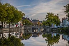 Brugge city center (www.jordyleenders.com) Tags: brugge belgium hdr high dynamic range nikon d4s d4 d40x digital jordy leenderscom jordyleenderscom jordyleenders nikond40x nikond3 nikond700 nikondigital nikond3s 50mm 18 europe belgian belgië antwerp antwerpen flanders raw water tree sky bridge river train