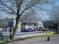 Springtime in Birmingham, April 2004 (David Rostance) Tags: bus twm 2849 b849aop mcw metrobus broadstreet birmingham