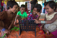 Support for the people from the Rakhine state of Myanmar (BRACGlobal) Tags: coxs bazar brac humanitarian response emergency bangladesh displaced settlements aid childfriendly child children childcare protection