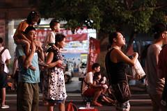 Night life - Kaohsiung (Chapo78) Tags: taiwan kaohsiung people street night life family