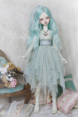 Bluebelly Water (AyuAna) Tags: bjd ball jointed doll dollfie ayuana design handmade ooak clothing clothes dress set fantasy romantic lace style msd mnf minifee dim dollinmind benetia hybrid