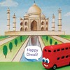 Beep! Beep! We wish you all a very happy Diwali. #HappyDiwali (bradleythebus) Tags: happydiwali