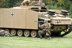DSC_6703 (Mark Morello) Tags: collingsfoundation hudsonma battlefortheairfield encampment reenactment wwii worldwar2 german american british russian at6 pt17 texan stearman tanks german88 battle hudson massachusetts usa