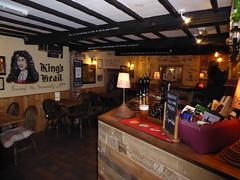 Kings Head Bonsall (lesleydugmore) Tags: pub bonsall peakdistrict derbyshire uk england europe beer lamp beams listedbuliding bar 1675 abelfamily britain