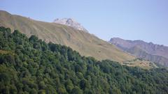 Widok z bazy Zeskho na Marjanishvili 3555m, ktory zbobyliśmy. (Tomasz Bobrowski) Tags: wspinanie mountains gruzja kaukaz góry marjanishvili zeskhobasecamp caucasus georgia climbing