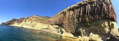 Basalto columnar en Cabo de Gata, Almería. (eustoquio.molina) Tags: basalto columnar cabo de gata almería volcánico basalt