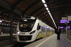 KD 45WE-021 , Wrocław Główny train station 11.10.2017 (szogun000) Tags: wrocław poland polska railroad railway rail pkp station wrocławgłówny ezt emu set electric newag en79 45we 45we021 impuls kd kolejedolnośląskie train pociąg поезд treno tren trem passenger commuter osobowy 69222 d29132 d29271 d29273 d29276 d29285 d29763 e30 e59 dolnośląskie dolnyśląsk lowersilesia canon canoneos550d canonefs18135mmf3556is