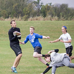 "<b>Alumni Ultimate Frisbee</b><br/> Homecoming 2017 Men's Ultimate Frisbee Alumni game. Photo by Rachel Miller '18<a href=""//farm5.static.flickr.com/4450/37694033276_33b1da596e_o.jpg"" title=""High res"">∝</a>"