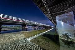 Barwon Heads Bridges-16 (Quick Shot Photos) Tags: barwonheads canon night oceangrove astro victoria australia twinbridges bridges leadinglinesbarwonheadscanonnightoceangroveastrovictoriaaustraliaau