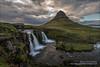 Cascada Kirkjufellsfoss, Península de Snæfellsnes (Islandia)