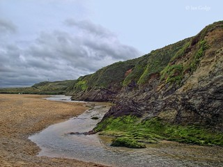 Holywell bay stream
