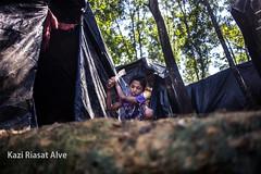 Rohingya boy making house. (Kazi Riasat Alve) Tags: rohingya refugeecrisis refugees refugeecamp iom unhcr conflict bangladesh myanmar coxsbazar rakhine kaziriasatalve