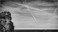 Glenn & Mor #11 (Entre Terre et Mer) (Napafloma-Photographe) Tags: 2017 bandw bw bretagne catégorieprojet cielmétéo géographie landscape manche métiersetpersonnages natureetpaysages paysages personnes techniquephoto vacances blackandwhite ciel mer monochrome napaflomaphotographe noiretblanc noiretblancfrance nuages paysage photographe province rocher sky traces plougrescant côtedarmor france fr