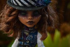 (Violet Lightning) Tags: monster high ooak doll repaint remake top hat clawdeen wolf mattel custom