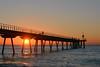 Sunrise, Badalona (cpcmollet) Tags: sunrise pont del petroli albada amanecer sun sol catalunya badalona sunset sea mediterranean catalonia sky seascapes barcelona view paisaje costa playa beach cataluña europe