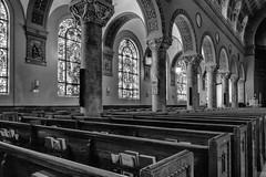 St Johns (dshoning) Tags: church sanctuary pews windows columnsstjohns iowa desmoines