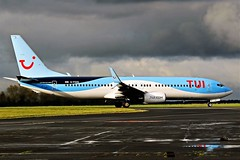 G-FDZD TUI BOEING 737 NEWCASTLE (toowoomba surfer) Tags: airline airliner aviation aircraft jet aeroplane ncl egnt