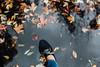 *** (Gabriela Tulian) Tags: shoes fall lace leaf leather person puddle reflect street shoe topdown water woman