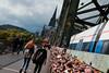 Iconic (Xaf) Tags: cologne colonia köeln milan bridge puente lockpad candados catedral cathedral köln