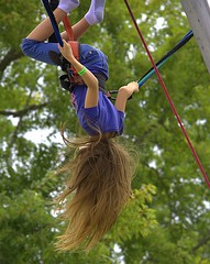 Bungee Ride (swong95765) Tags: girl kid ride inverted fun bungee