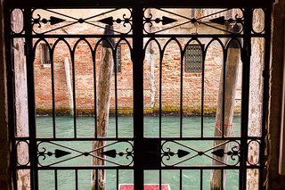 Canal Gate to the Palazzo