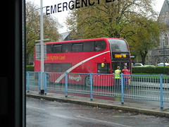"""Kernow Kewgh Kyrrtin"" Bus, Royal Parade, Plymouth 24 October 2017 (Cold War Warrior) Tags: bus omnibus kernow cornwall plymouth"