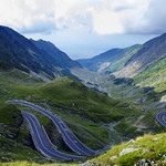 One of the most beautiful mountain roads in the world located in the Carpathian Mountains of Romania thumbnail