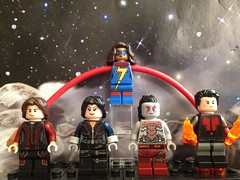 Post-Infinity Inhumans (David$19) Tags: lego legomarvel inhumans theinhumans marvelinhumans postinfinityinhumans ulyssescain quake msmarvel lash inferno