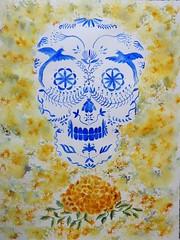 Ofrenda 2 (benilder) Tags: díademuertos méxico acuarela watercolor watercolour aquarelle catrina benilde