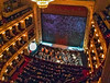 National Theatre Interior (fotofrysk) Tags: nationaltheater narodnidivadlo operahouse 1883 loges orchestrapit seats red gold chandelier interior easterneuropetrip prague praha czechrepublic apple ipad mini 20170924img1323