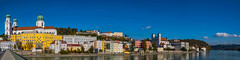 Passau - Lower Bavaria, Germany (dejott1708) Tags: passau lower bavaria germany landscape cityscape panorama sky blue river inn st stephans cathedral veste oberhaus