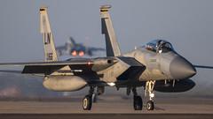 Reaper Ops! (Steve Cooke-SRAviation) Tags: 48thfighterwing f15e sraviation 500mm 493fs f15c raflakenheath usaf f15eagle 5d3 canon 492fs usafe 494fs aim120 amraam