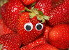 299/365 If Strawberries Had Eyes.... (Helen Orozco) Tags: strawberries eyes 2017365 fruit fragaria red canonrebelsl1