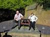 Garden party (Elysia in Wonderland) Tags: garden party nan granda paul sunbathing sun sat bench table
