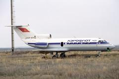 CCCP-87702 Yakovlev Yak-40 Aeroflot (pslg05896) Tags: akx uatt aktyubinsk aktobe kazakhstan cccp87702 yakovlev yak40 aeroflot