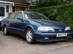 1995 Ford Granada Scorpio (Neil's classics) Tags: vehicle 1995 ford granada scorpio car