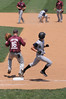 Safe on first, out on second (BockPhoto) Tags: field baseball onbase runner safe athlete sports bases 1stbase 2ndbase firstbase secondbase